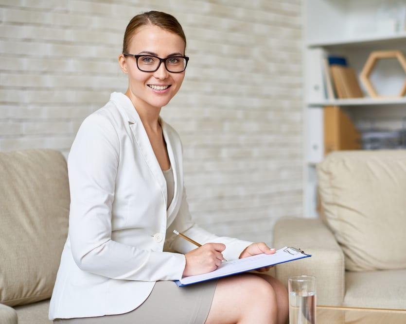 Young female psychiatrist